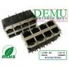 RJ45 2*4 10/100/1000 LED
