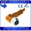 厂家直销供应耐弯折M12连接器-耐温、防水