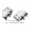 USB3.0 A母侧插短体90度无卷边 集成电路USB连接器