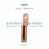 DT铜鼻子 线鼻子 铜端子 中域电气是一家铜鼻子专业生产厂家
