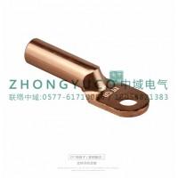 镀锡铜鼻子 DT线鼻子,铜鼻子生产厂家-浙江中域电气有限公司