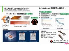动力电池汇流排铜铝复合材料